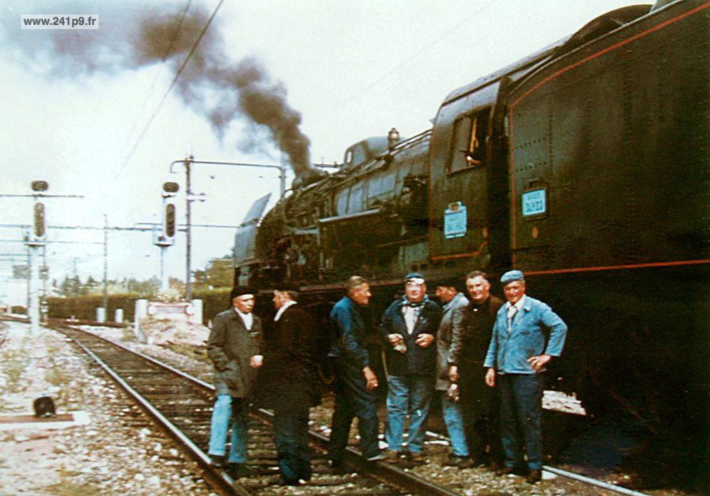 histo 1974 241 P 9 Coutras 1024x715 Historique 4   Transfert du Mans à Guîtres