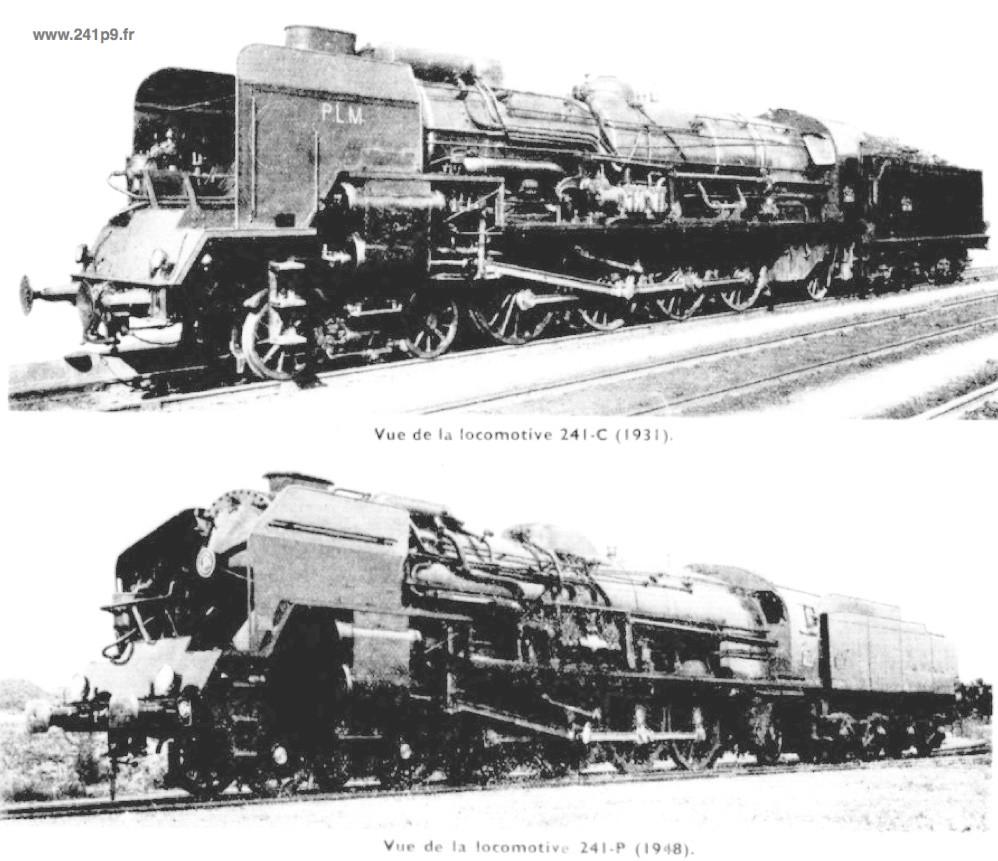 histo 241P doc SNCF p5 Historique 1   La série des 241 P