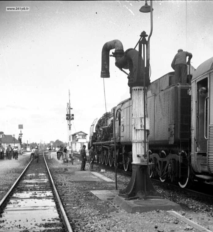 histo 241P9 1973 06 17 grue Gabriel Bieri Historique 3   Le dernier train : le spécial COPEF de 1973