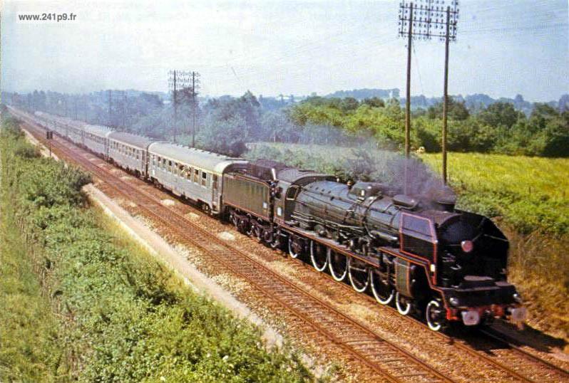 histo 241P9 1973 06 17 special Copef Historique 3   Le dernier train : le spécial COPEF de 1973