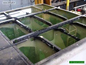 Tender plein - eau verte