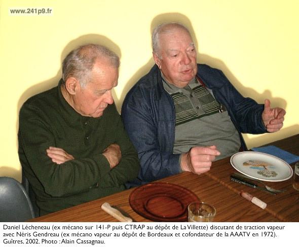 Daniel Lecheneau et Neris Gendreau Historique 5   Un long sommeil à Guîtres